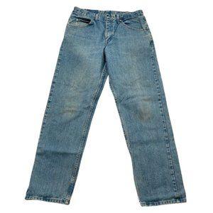 Wrangler Men's Relaxed Fit Denim Jeans Size 33/32